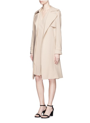 Figure View - Click To Enlarge - Theory - 'Livwilth' wrap front crepe dress