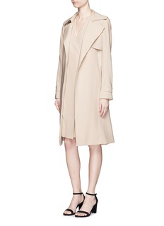 THEORY 'Livwilth' wrap front crepe dress