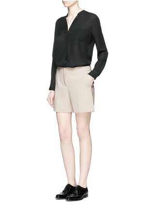Figure View - Click To Enlarge - Theory - 'Masibeth' Admiral Crepe shorts
