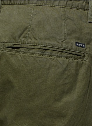 Detail View - Click To Enlarge - Scotch & Soda - Pima cotton chino shorts