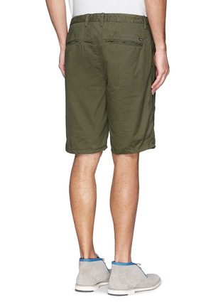 Back View - Click To Enlarge - Scotch & Soda - Pima cotton chino shorts