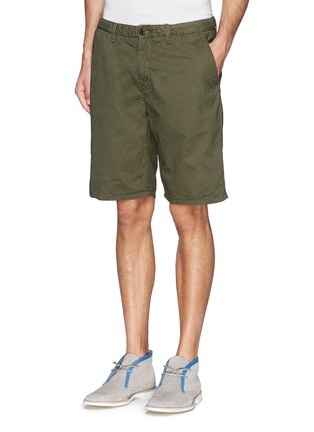 Front View - Click To Enlarge - Scotch & Soda - Pima cotton chino shorts