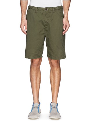 Main View - Click To Enlarge - Scotch & Soda - Pima cotton chino shorts
