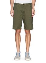 Pima cotton chino shorts