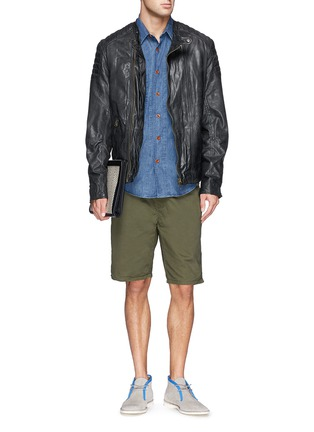 Figure View - Click To Enlarge - Scotch & Soda - Pima cotton chino shorts