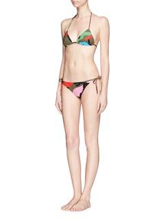 Valentino'Camupsychedelic' triangle bikini