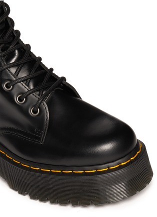 Detail View - Click To Enlarge - Dr. Martens - 'Jadon' leather boots