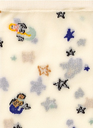 Detail View - Click To Enlarge - HANSEL FROM BASEL - 'Mermaid' crew socks