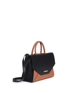 GIVENCHY'Obsedia' small bicolour leather flap tote