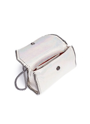 - Stella McCartney - 'Falabella' holographic chain crossbody bag
