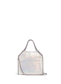 Stella McCartney'Falabella' mini holographic two-way chain tote