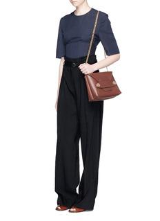 Stella McCartney'Stella Popper' small double envelope shoulder bag