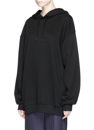 Front View - Click To Enlarge - Acne Studios - 'Yala' paisley embroidered oversized hoodie