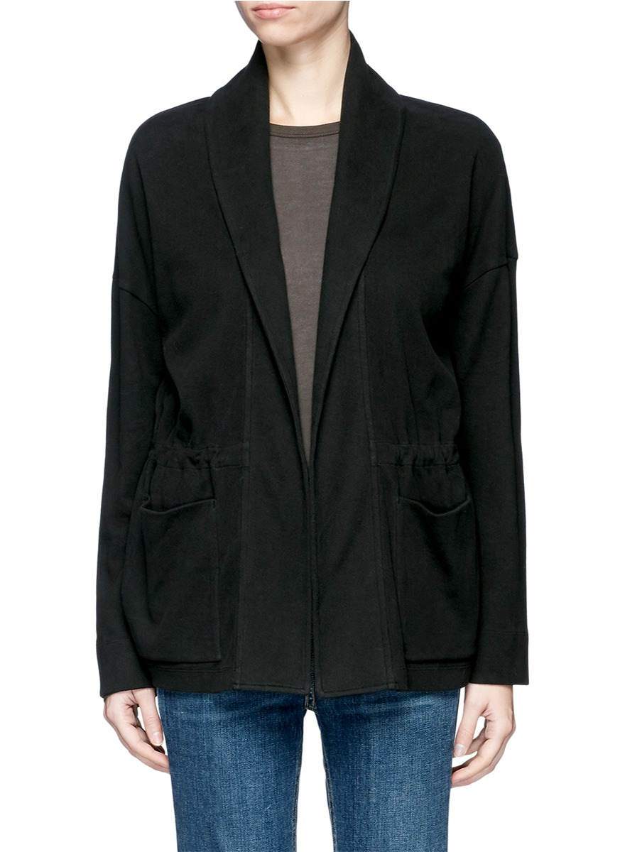 Double faced fleece jersey jacket by James Perse