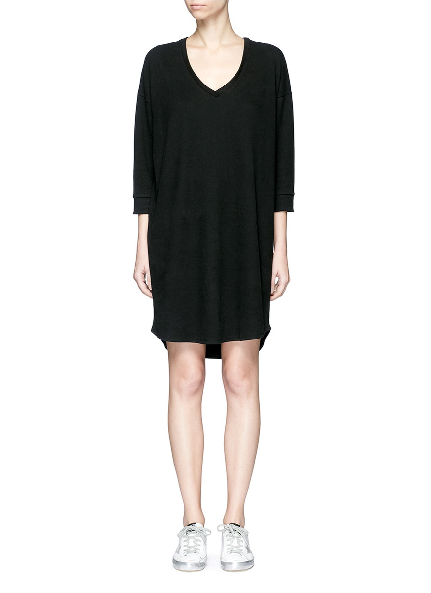 Double faced fleece jersey dress by James Perse