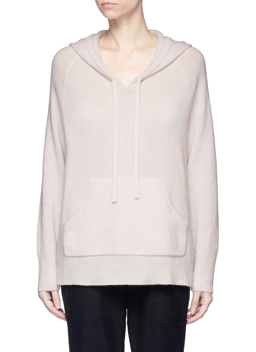 Cashmere knit hoodie by James Perse