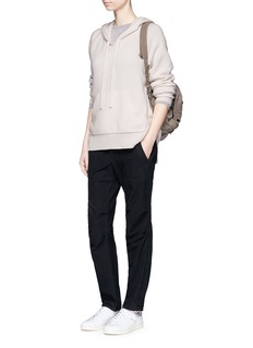James Perse Cashmere knit hoodie