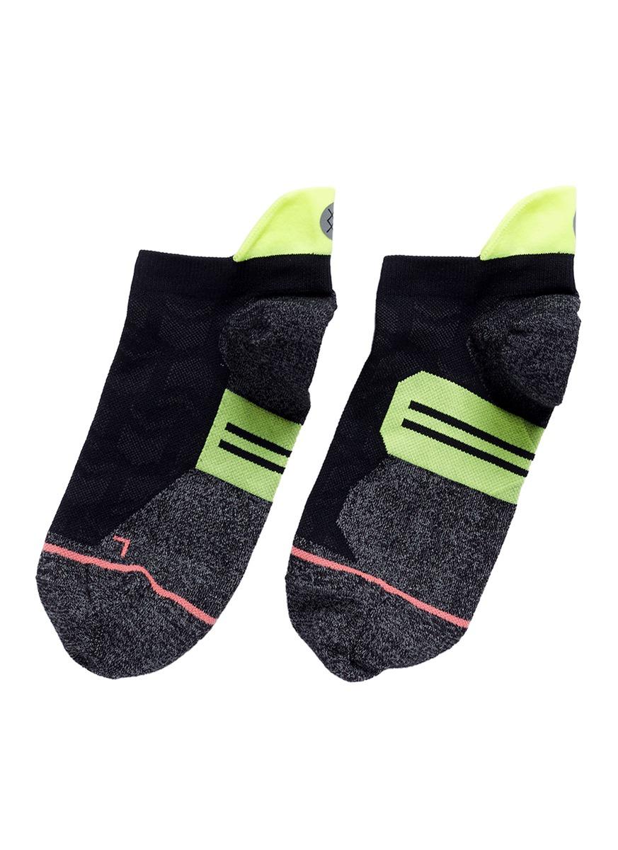 stance female kinetic low reinforced heel performance socks