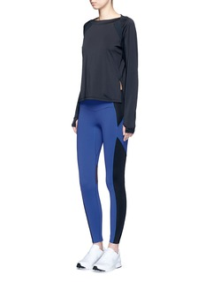Particle Fever Colourblock performance jersey tights