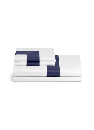 Main View - Click To Enlarge - Frette - Bicolore queen size sheet set