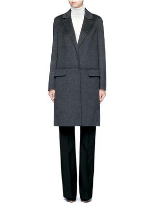 Main View - Click To Enlarge - Yves Salomon - Double-faced wool-cashmere coat