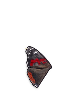 NovelVanessa Indica' butterfly wing silk pocket square