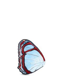 NovelPyrrhogyra Crameri' butterfly wing silk pocket square