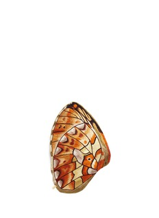 Novel 'Boloria Euphrosyne' butterfly wing silk pocket square
