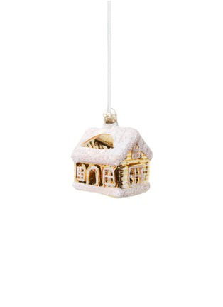 Main View - Click To Enlarge - Shishi As - Frosted house Christmas ornament