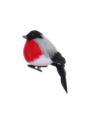 Main View - Click To Enlarge - Shishi As - Feather robin Christmas ornament