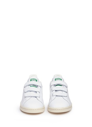 Front View - Click To Enlarge - Adidas - 'Stan Smith CF' leather sneakers