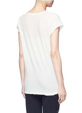 Back View - Click To Enlarge - James Perse - Deep V-neck slub jersey T-shirt