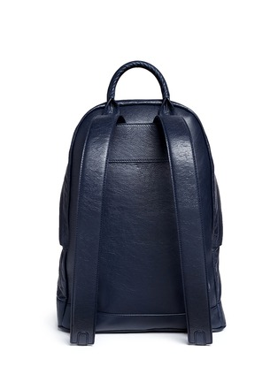 Back View - Click To Enlarge - Balenciaga - Matte lambskin leather backpack