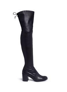 Stuart WeitzmanTieland' leather thigh high boots
