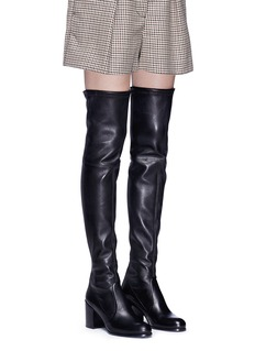 Stuart Weitzman 'Tieland' leather thigh high boots