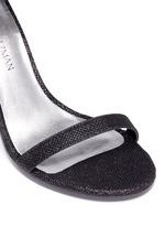 'Walk Way' glitter mesh sandals