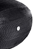 'America' water snake leather rugby ball