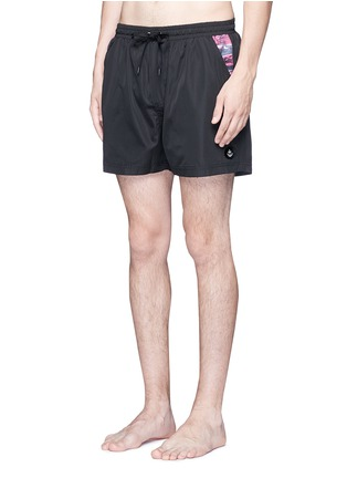 Figure View - Click To Enlarge - Insted We Smile - 'Olson' swim shorts