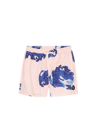 Main View - Click To Enlarge - Insted We Smile - 'Pettibon' digital print swim shorts