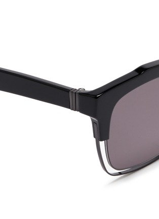 Detail View - Click To Enlarge - Haze - 'Buzz' wire rim sunglasses