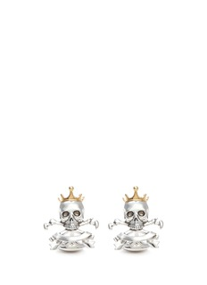 DEAKIN & FRANCIS Pirate crest cufflinks