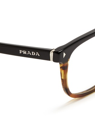 Prada Glasses Frames Vision Express : Prada - Bicolour Acetate Optical Glasses Men Lane Crawford