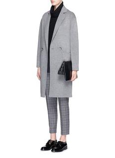 THEORY'Treeca CL' windowpane check flannel pants