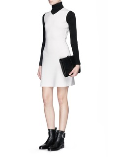 THEORY 'Myrelle' stretch wool turtleneck dress