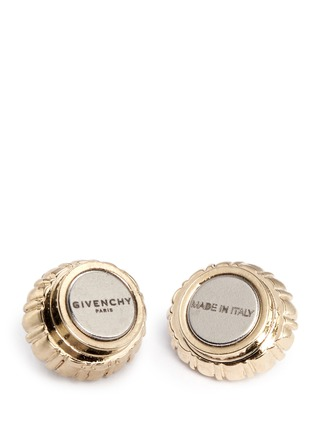Detail View - Click To Enlarge - Givenchy Beauty - Swarovski crystal pavé magnetic earrings