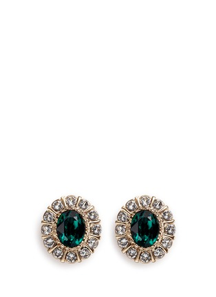 Main View - Click To Enlarge - Givenchy Beauty - Swarovski crystal pavé magnetic earrings