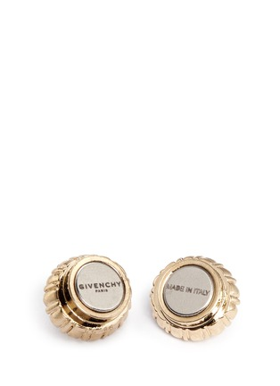 Detail View - Click To Enlarge - Givenchy - Swarovski crystal pavé magnetic earrings