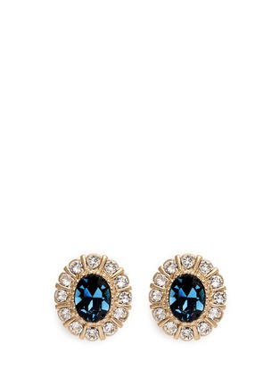 Main View - Click To Enlarge - Givenchy - Swarovski crystal pavé magnetic earrings