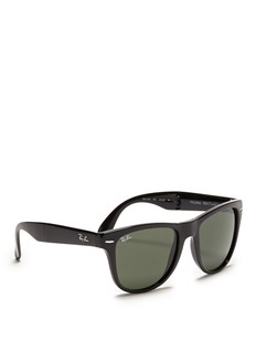 RAY-BAN 'Wayfarer Folding' acetate sunglasses