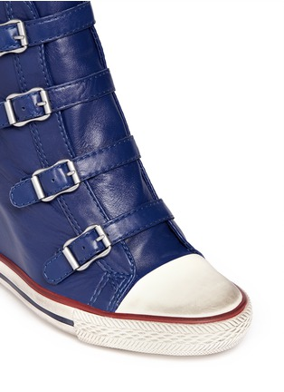 Detail View - Click To Enlarge - Ash - United leather wedge sneakers